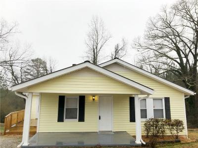 Walhalla Single Family Home For Sale: 361 Snead Road