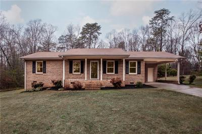 Anderson Single Family Home For Sale: 118 Overview Terrace