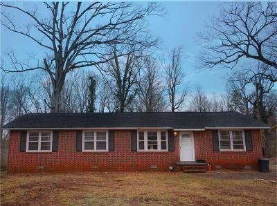 Anderson Single Family Home For Sale: 3011 Sunset Forest Road