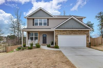Easley Single Family Home Contract-Take Back-Ups: 110 Crepe Myrtle Court