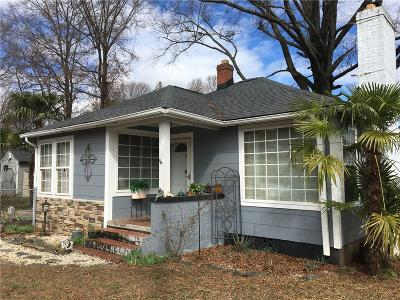 Greenville SC Single Family Home For Sale: $193,500