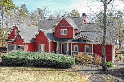 Oconee County Single Family Home Contract-Take Back-Ups: 502 Ramey Overlook Drive