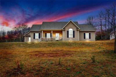 Seneca Single Family Home For Sale: 1254 Dyar Road