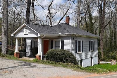 Clemson, Seneca Single Family Home For Sale: 108 Clemson Street