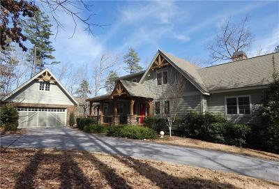 Oconee County, Pickens County Single Family Home For Sale: 545 Piney Cove Lane