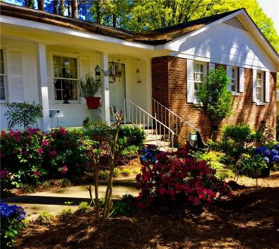 Anderson SC Single Family Home For Sale: $162,900