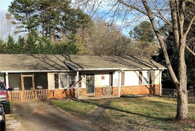 Easley Single Family Home Contract-Take Back-Ups: 119 Edgewood Avenue