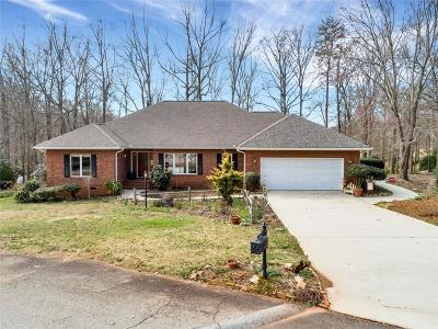 Seneca Single Family Home For Sale: 4402 Smoak Pond Road