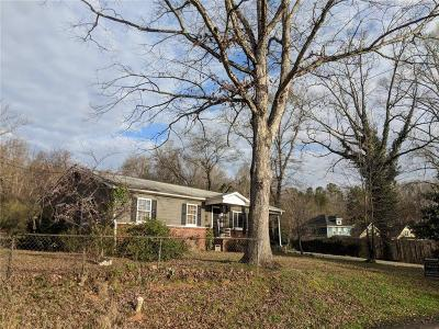 Clemson Single Family Home Contract-Take Back-Ups: 106 Summey Street