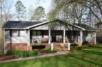 Seneca Single Family Home For Sale: 1484 Coneross Point Drive