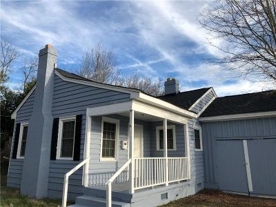 Single Family Home Contract-Take Back-Ups: 106 E Morris Street
