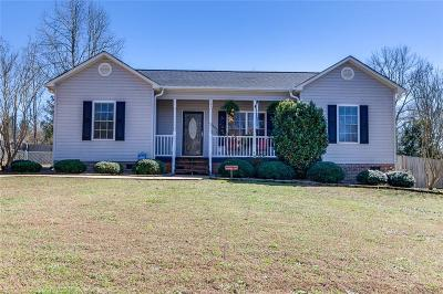 Pickens Single Family Home Contract-Take Back-Ups: 105 Timber Drive