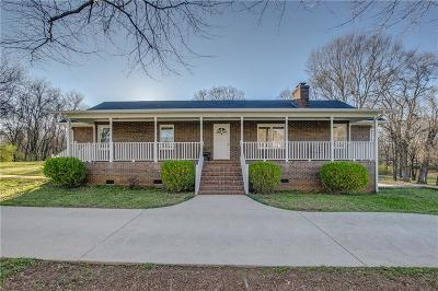 Central Single Family Home For Sale: 2553 Six Mile Highway