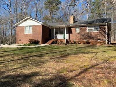 Pickens Single Family Home Contract-Take Back-Ups: 126 Brookside Circle