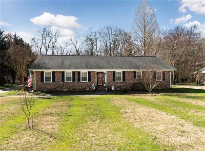 Anderson Single Family Home For Sale: 607 Loblolly Drive