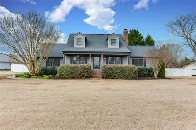 Anderson Single Family Home Contract-Right of Refusal: 367 Green Hill Drive