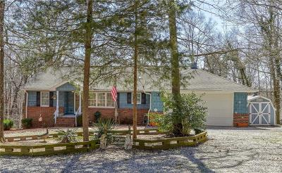 Single Family Home For Sale: 726 Seminole Point Road