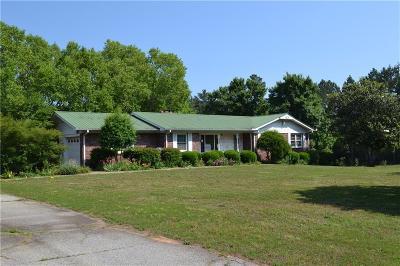 Oconee County Single Family Home For Sale: 174 W Bennett Rd Road