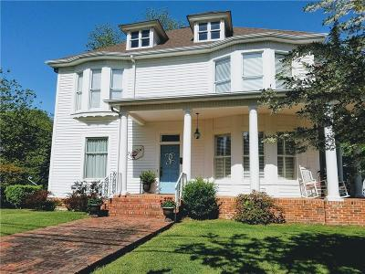 Walhalla Single Family Home Contract-Take Back-Ups: 302 S College Street