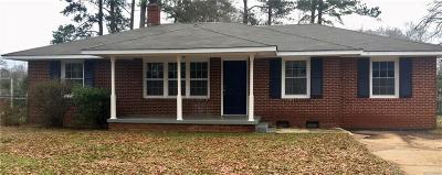 Anderson Single Family Home For Sale: 201 Ashley Avenue