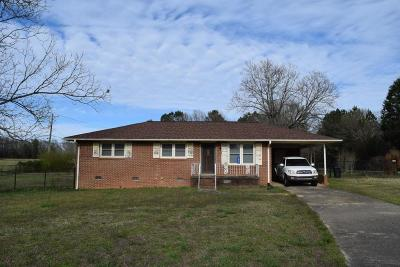 Starr SC Single Family Home For Sale: $84,900