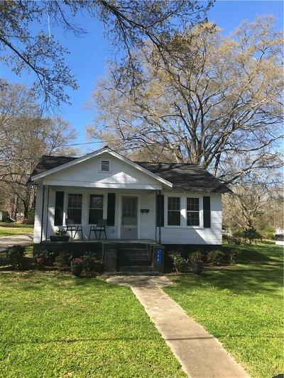 Belton Single Family Home Contract-Take Back-Ups: 107 Crescent Avenue