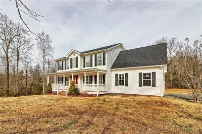 Pickens Single Family Home For Sale: 196 Mistr Lane