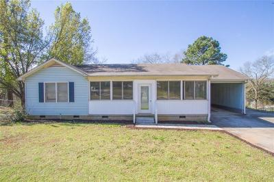 Anderson SC Single Family Home For Sale: $115,000