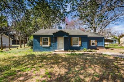 Anderson County Single Family Home For Sale: 434 Lebanon Road