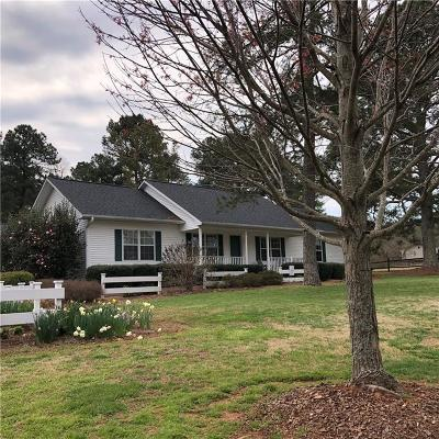 Pickens County Single Family Home For Sale: 3844 Six Mile Highway