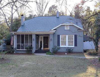 Anderson SC Single Family Home For Sale: $149,000