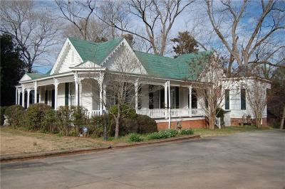 Abbeville County Single Family Home For Sale: 104 Greenville Street