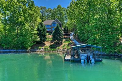 The Summit, Eastshores, Keowee Subdivision, White Oak Cliff, shangri-la, shangrila, Lakewood Estate, Sugar Hill, Port Santorini, Lakeview Height, Eleven Oaks, Waterford Sub, Waterford Pointe - Oconee Single Family Home For Sale: 504 Viewpoint Court