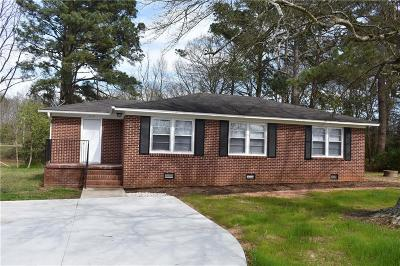 Anderson Single Family Home Contract-Take Back-Ups: 319 Hillcrest Circle