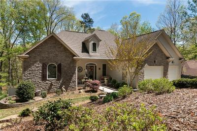 Keowee Key Single Family Home Contract-Take Back-Ups: 10 Gulf Stream Lane
