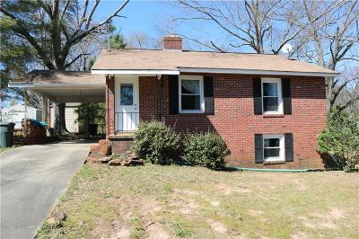 Clemson, Seneca Single Family Home For Sale: 304 W South 5th Street