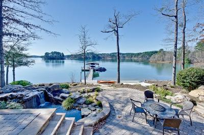Keowee Key Single Family Home Contract-Take Back-Ups: 7 Davys Locker Lane