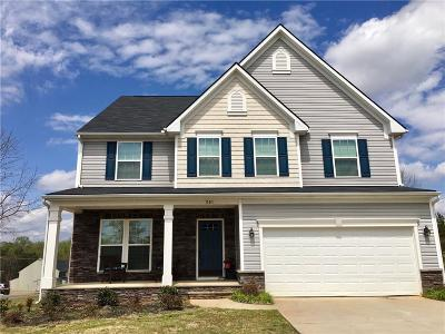 Easley Single Family Home For Sale: 201 Lily Court