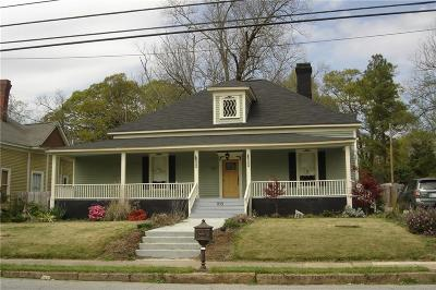 Anderson Single Family Home For Sale: 215 E Franklin Street