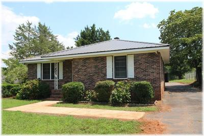 Seneca Single Family Home Contract-Take Back-Ups: 434 Old Clemson Highway