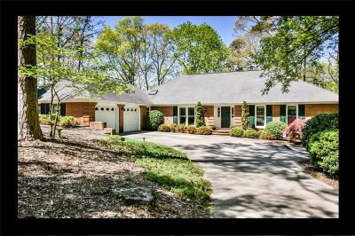 Oconee County, Pickens County Single Family Home For Sale: 1210 Cane Creek Drive