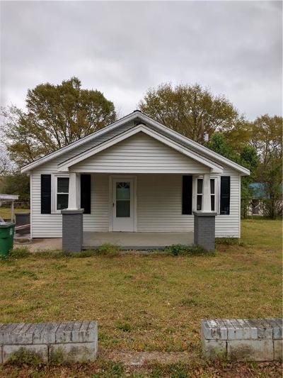 Williamston Single Family Home For Sale: 207 Hill Avenue