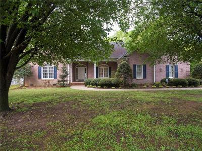 Easley Single Family Home Contract-Take Back-Ups: 545 Brighton Circle