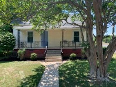 Easley Single Family Home For Sale: 100 S 3rd Street