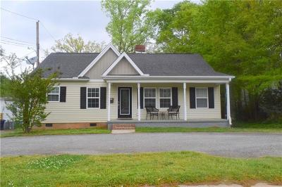 Anderson Single Family Home For Sale: 316 Whitehall Road
