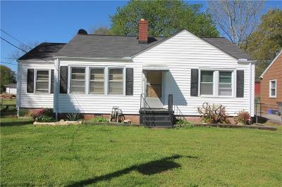 Greenville Single Family Home For Sale: 16 McLean Street