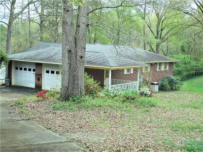 Anderson County, Oconee County, Pickens County Single Family Home Contract-Take Back-Ups: 4621 Pine Needle Circle