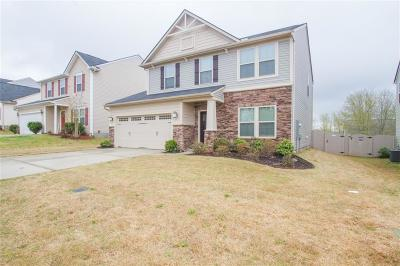 Simpsonville Single Family Home Contract-Take Back-Ups: 204 Mercer Drive
