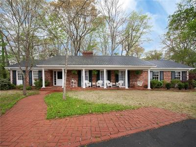Pickens Single Family Home Contract-Take Back-Ups: 1025 Country Club Road