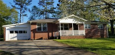 Clemson, Seneca Single Family Home For Sale: 106 Brookwood Drive
